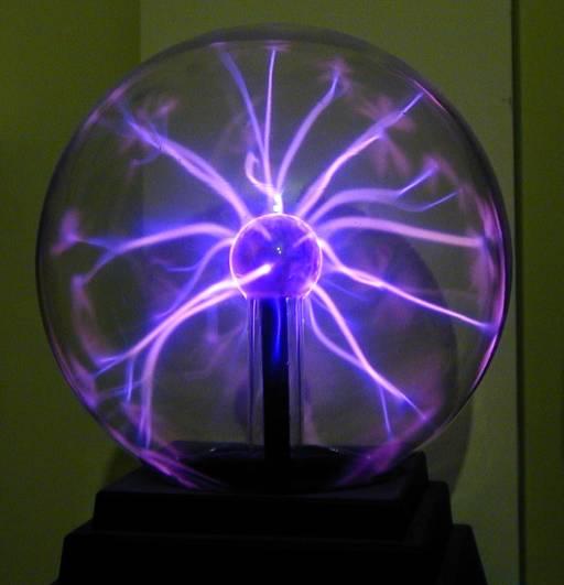 large electric plasma nebula ball - photo #7